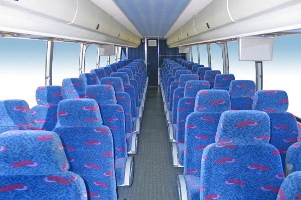 50 person charter bus rental Durham