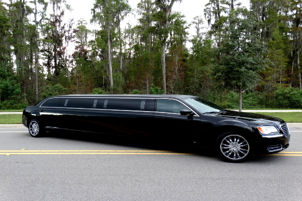 Chrysler 300 limo service Durham
